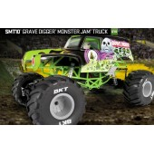 Axial SMT10™ Grave Digger Monster Jam Truck 1 10 4WD RTR