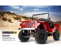Gmade 1/ 10 GS01 Sawback 4x4 Scaler Radiocomandato RTR Rosso