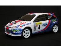 The Rally Legends Ford Focus WRC Mc Rae Grist ARTR 4wd EZRL002 Trasparente