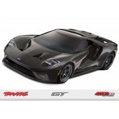 Traxxas Rc Car OnRroad Ford GT 4Tec 2.0 Chassis 1/ 10 Scale RTR Grey
