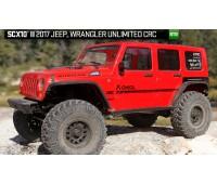 Axial Scx 10 II Jeep Wrangler Rubicon CRC con Led 4wd 1/ 10 Scaler RTR AX90060