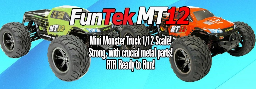 Funtek MT12 Monster Truck 1/12