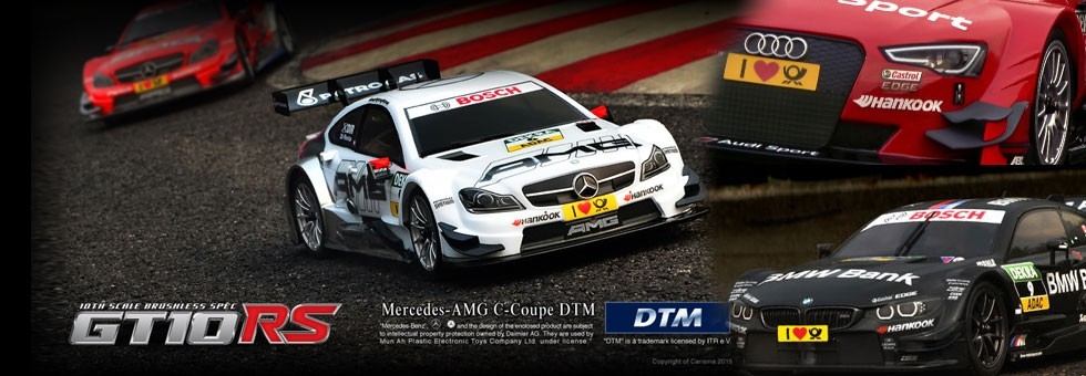 Carisma Rc Auto Radiocomandate DTM