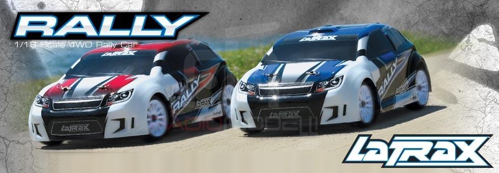La Trax Rally 1/18 4wd