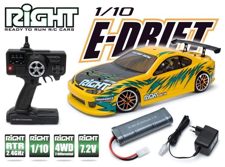 1/10 E-Drift EP 4WD 4