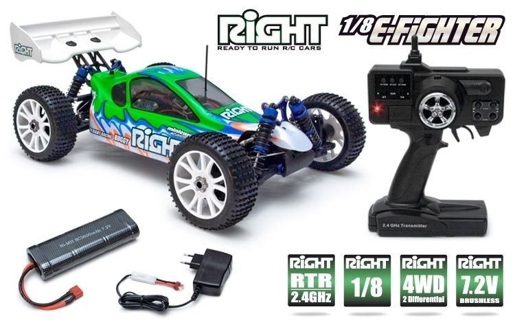 E-Fighter EP Buggy 4WD 3