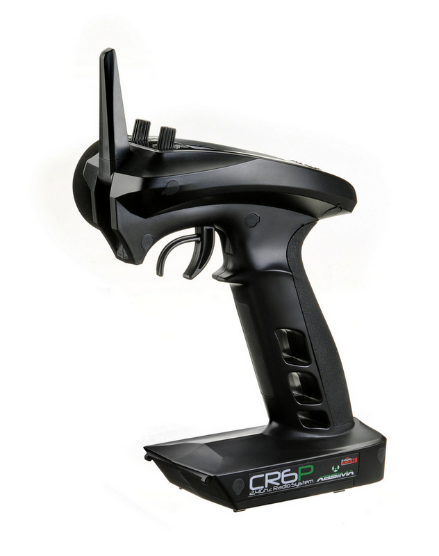 Absima CR6P Radio 6 Canali pistola LCD 02