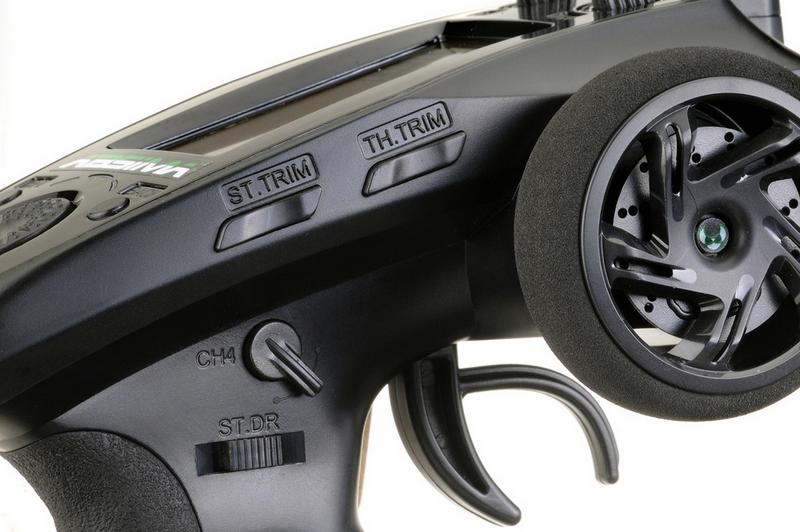 Absima CR6P Radio 6 Canali pistola LCD 04