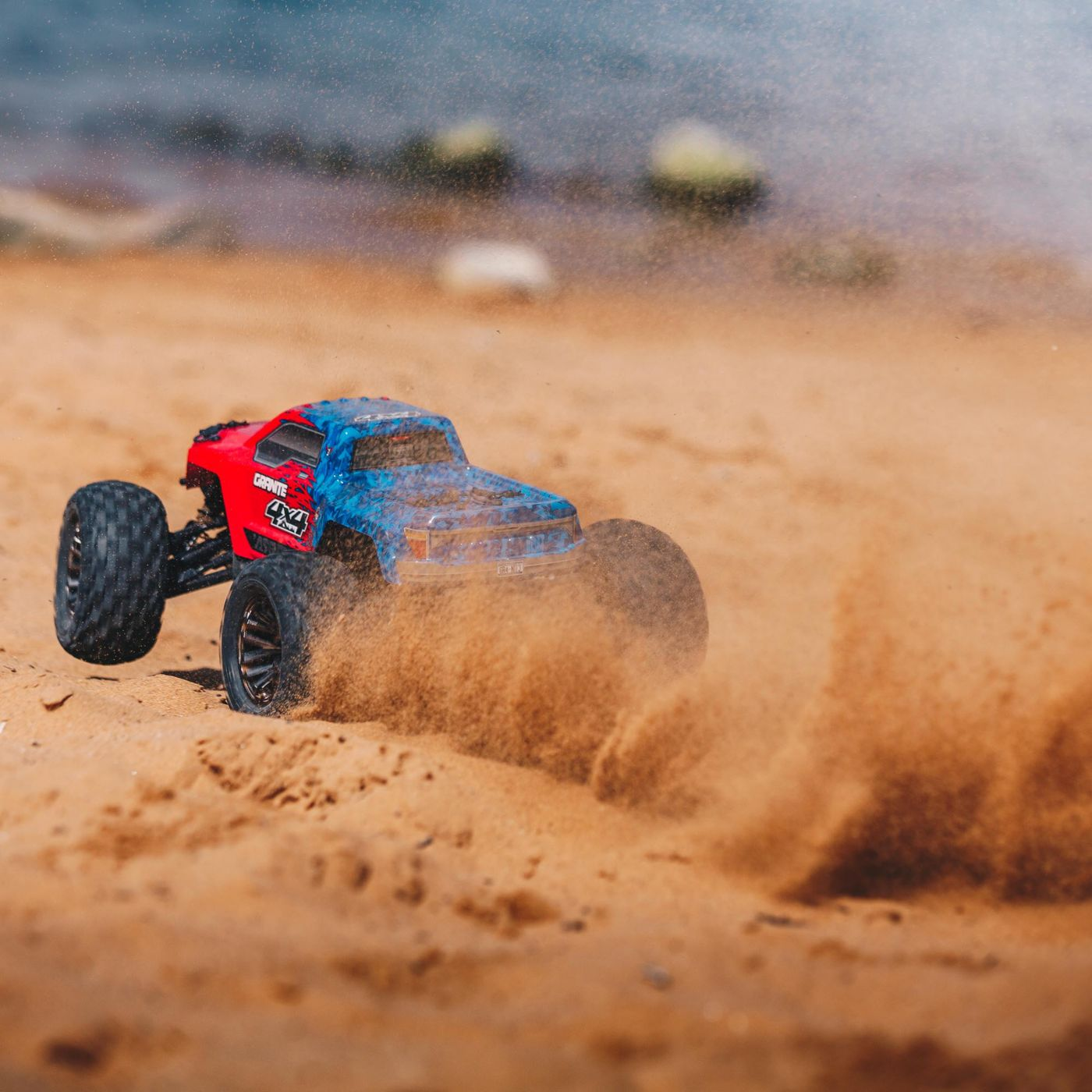 Arrma Granite 3S 4x4 Brushless BLX RTR red 9