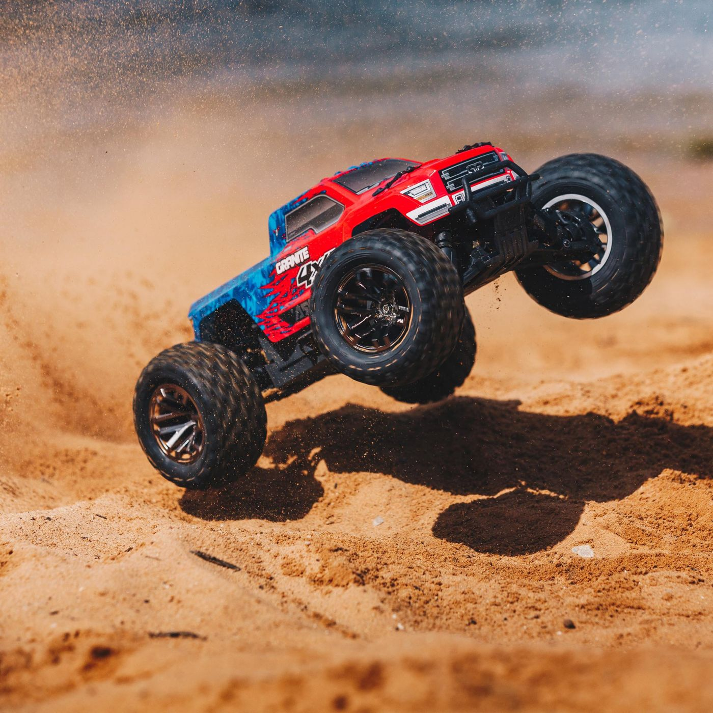 Arrma Granite 3S 4x4 Brushless BLX RTR red 10