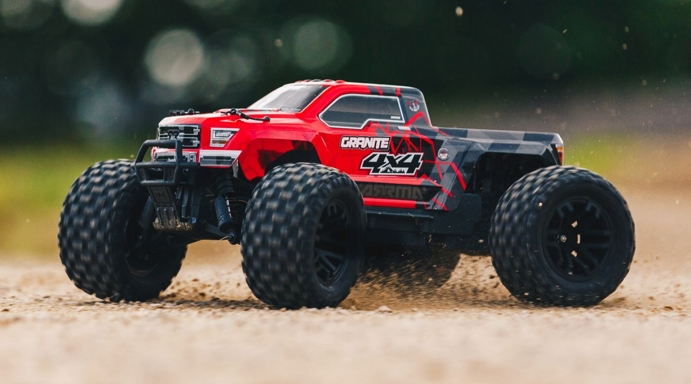 Arrma Granite 4x4 Mega Monster Truck Red 1/10 rtr 1