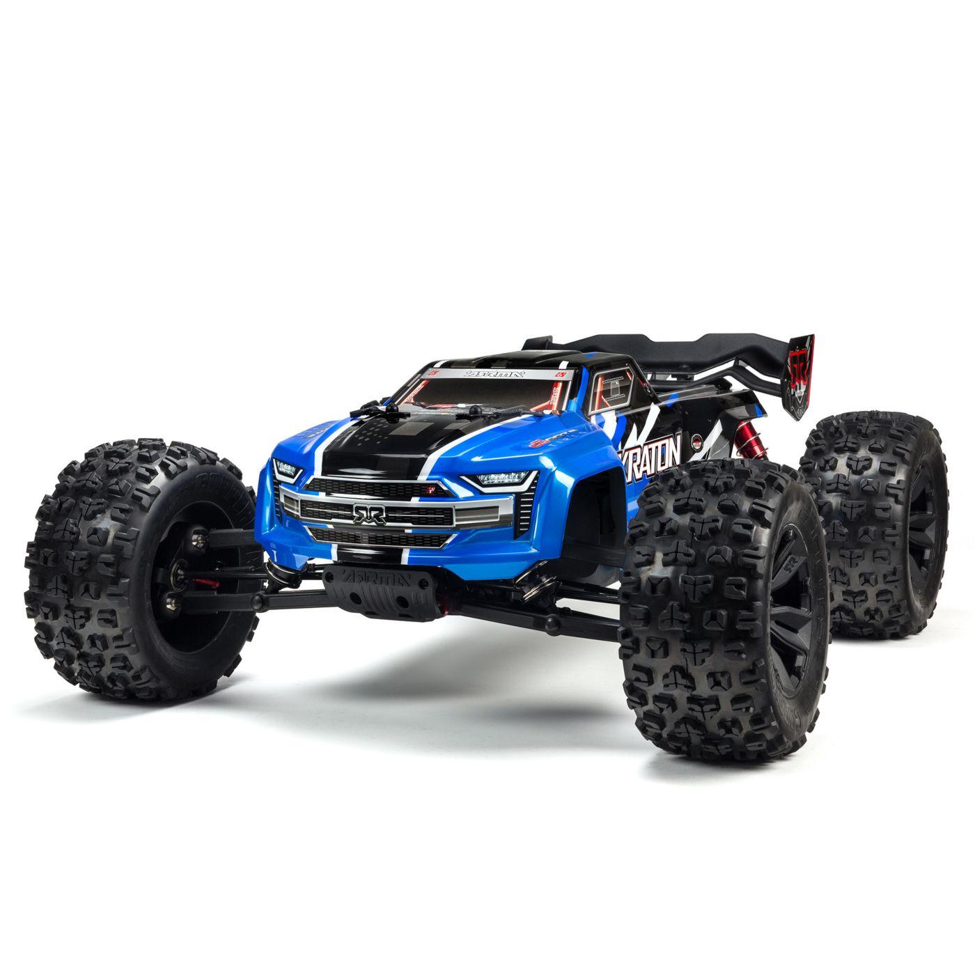 Arrma Kraton 6S Blx 4WD Truggy Brushless Blue 01