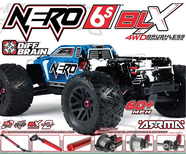 Arrma Nero 5s Blx 4WD brushless rtr 1
