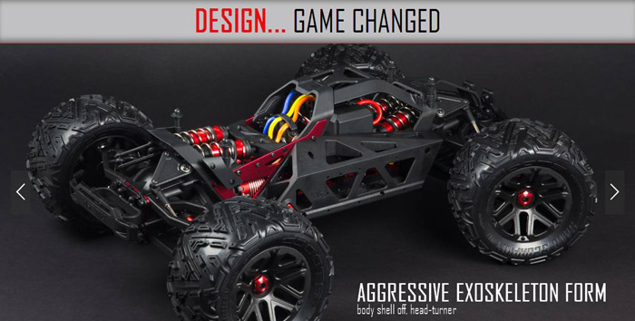 Arrma Nero 5s Blx 4WD brushless rtr 7