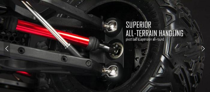 Arrma Nero 5s Blx 4WD brushless rtr 12