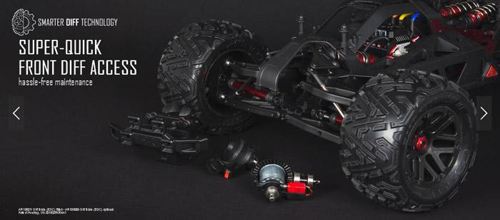 Arrma Nero 5s Blx 4WD brushless rtr 21