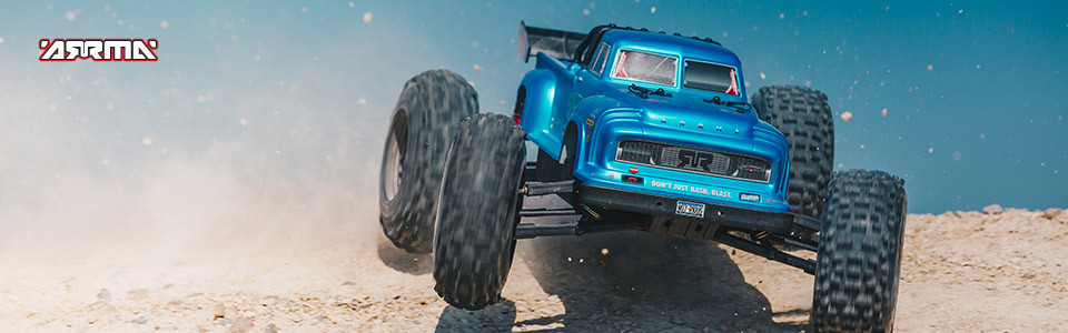 Arrma Notorious 6S Blx 4WD Truggy Brushless Black 1
