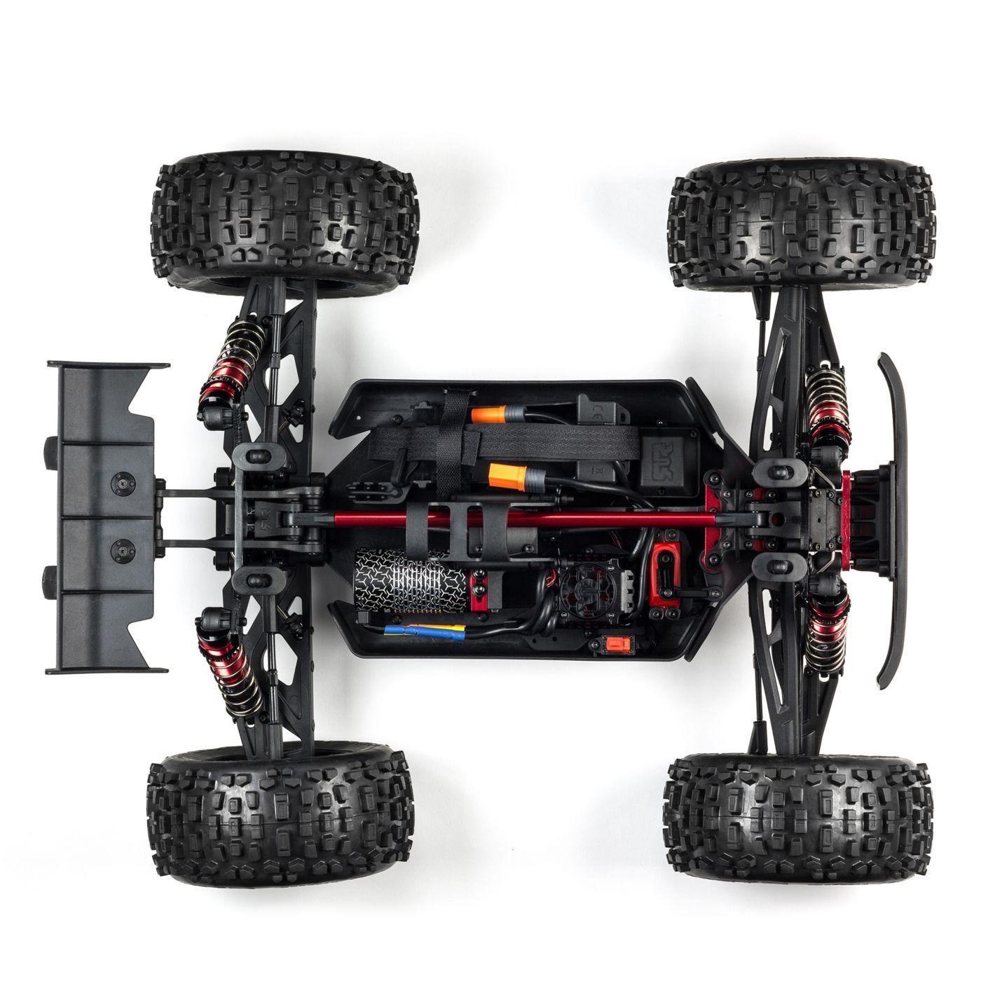 Arrma Notorious 6S Blx 4WD Truggy Brushless Black 2