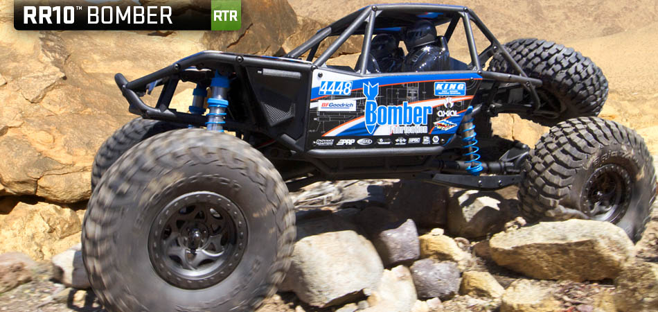 Axial Bomber Racetruck rtr 1/10 4wd 01