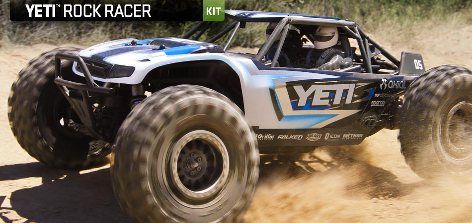 Axial Jeti Rock Racer kit