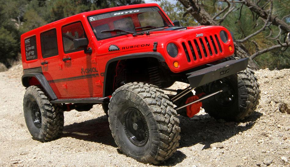 Axial Scx 10 II rtr Jeep Wrangler Rubicon 4wd 02