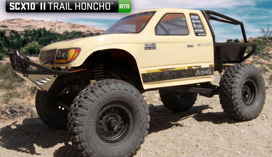 Axial Scx 10 II rtr Trail Honcho 4wd 01