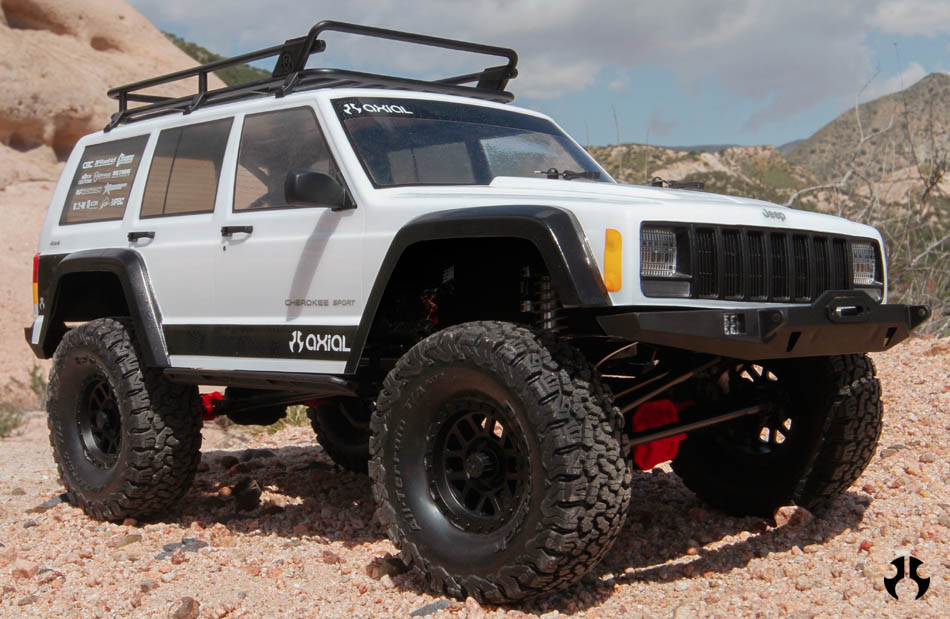 Axial Scx 10 kit Jeep Cherokee 4wd 01