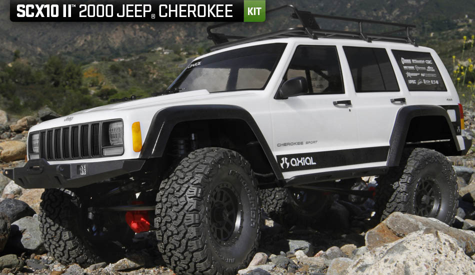 Axial Scx 10 II kit Jeep Cherokee 4wd 01