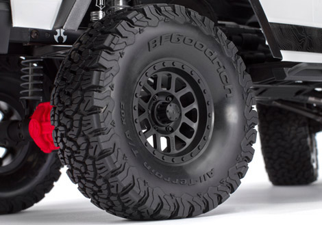Axial Scx 10 II kit Jeep Cherokee 4wd 11