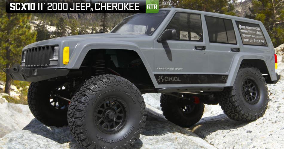 Axial Scx 10 II rtr Jeep Cherokee 4wd 01