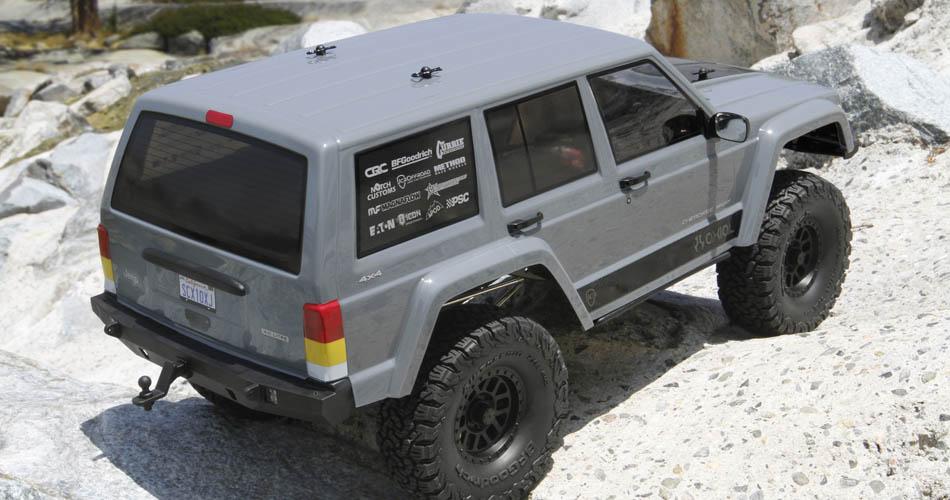 Axial Scx 10 II rtr Jeep Cherokee 4wd 02
