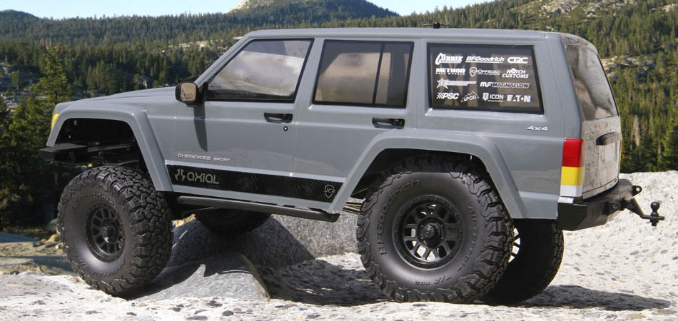 Axial Scx 10 II rtr Jeep Cherokee 4wd 04