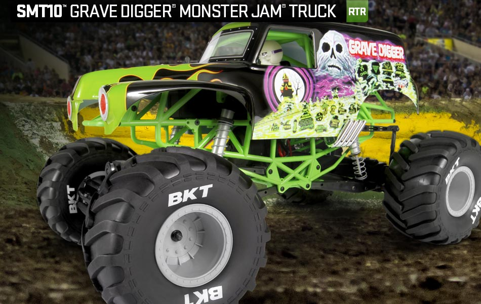 Axial SMT10™ Grave Digger Monster Jam