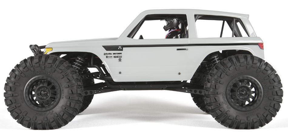 Axial Wraith Spawn Rock Racer rtr side
