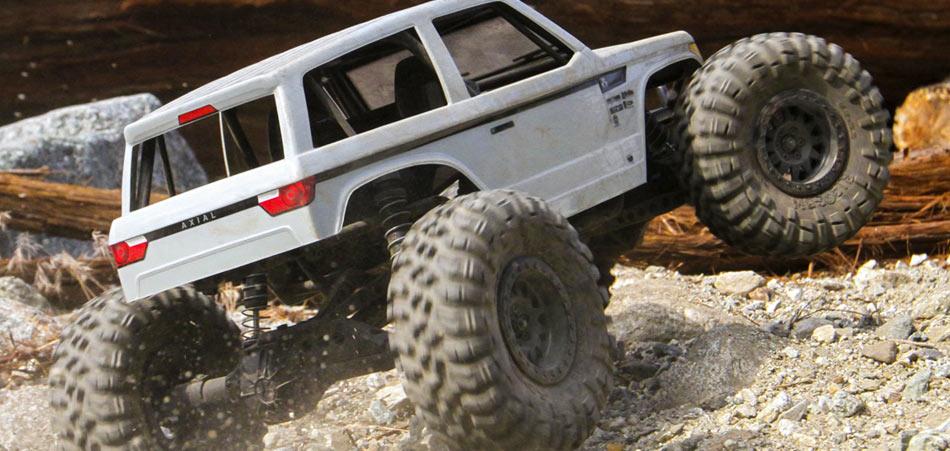 Axial Wraith Spawn Rock Racer rtr x3