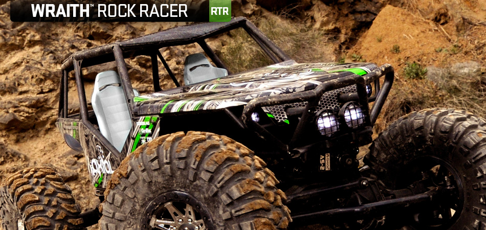 Axial Wraith Rock Racer rtr