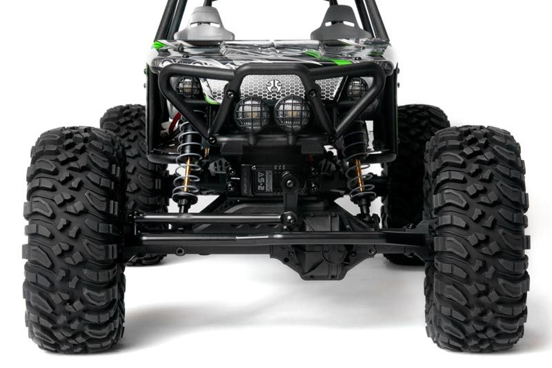 Axial Wraith Rock Racer rtr fronte