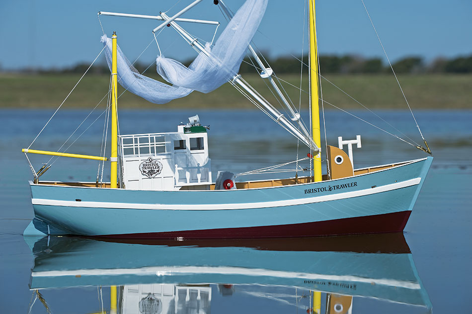Aquacraft Bristol Trawler fishing boat rc 03