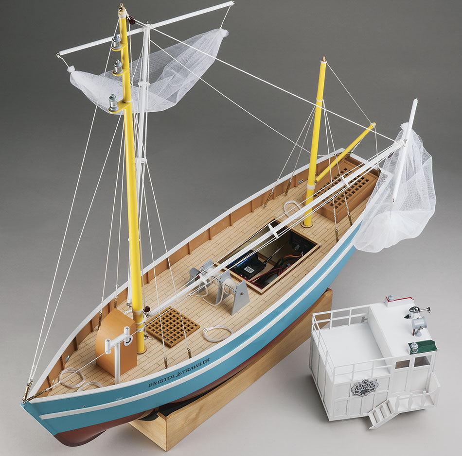 Aquacraft Bristol Trawler fishing boat rc 05