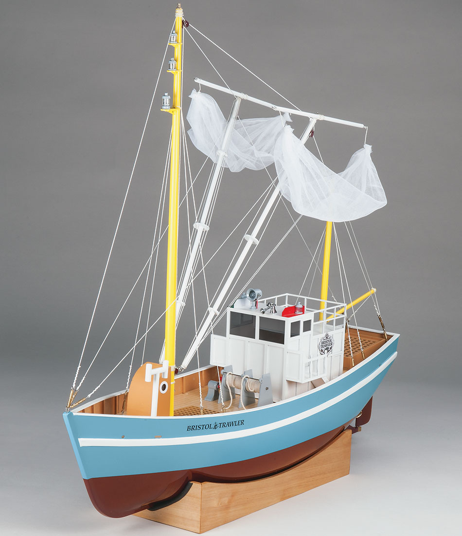 Aquacraft Bristol Trawler fishing boat rc 07