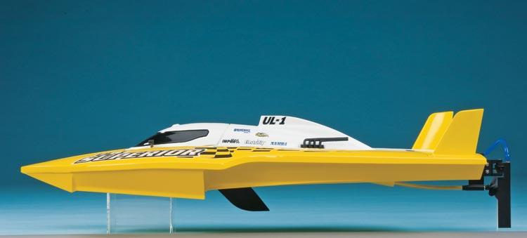 Acquacraft UL 1 Superior rtr Brushless Speedboat 3