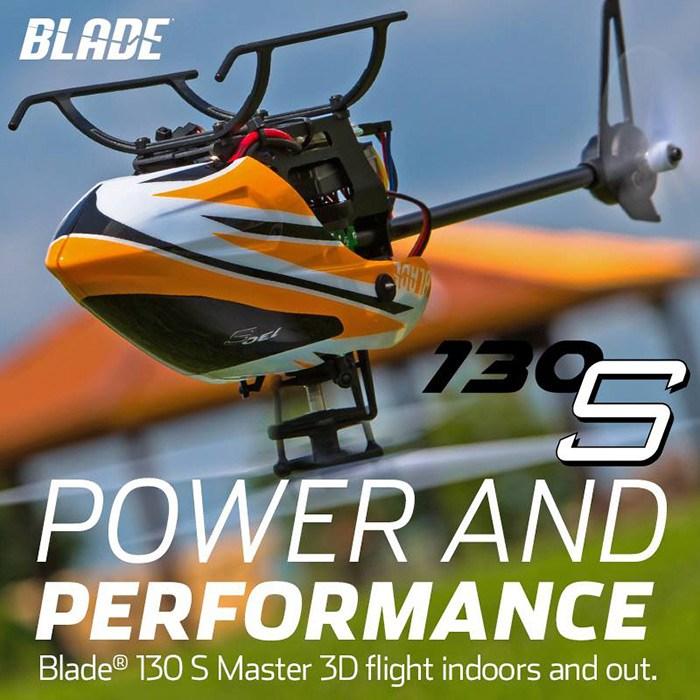 Blade 130 s RTF safe elicottero rc 01