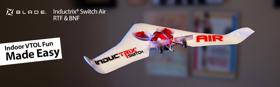 Blade inductrix Switch AIR RTF Aereo Drone rc 01