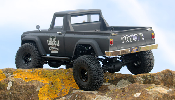 Carisma Sca 1E Coyote scaler 1 /10 RTR Elettrico 7