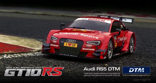 Carisma Auto Audi Rs5 Gt10rs Dtm 2014 Red 1 10 Rtr Negozio Di