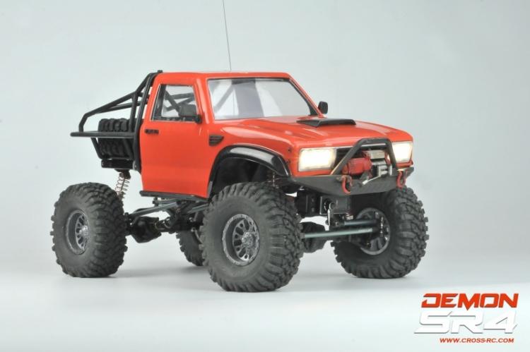 Cross rc Demon SR4A kit scaler pickup rc 4x4 01