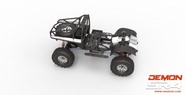 Cross RC Scaler Demon SR4A Kit 1: 10 - Negozio di modellismo