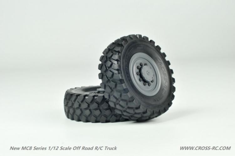 Cross RC Camion Trial 8x8 in Metallo MC8 Kit 04