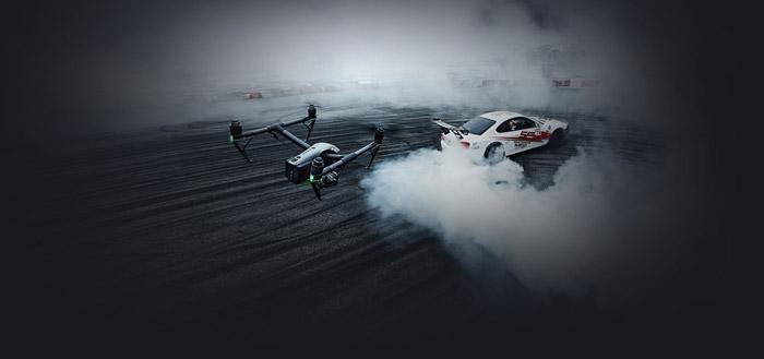 DJI Inspire 2 profesisonal aerial film machine 14