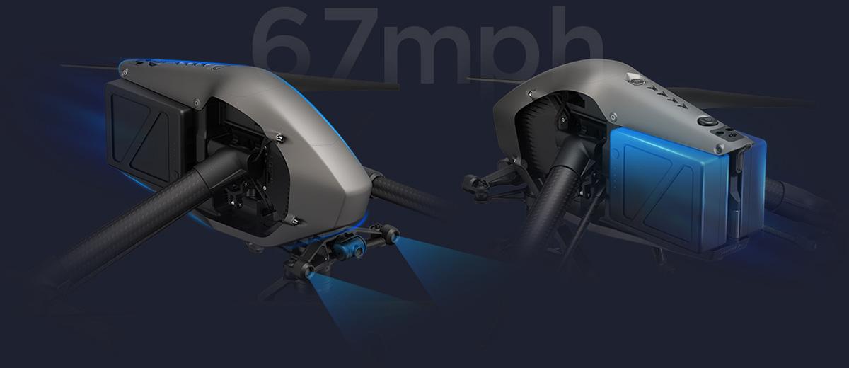 DJI Inspire 2 profesisonal aerial film machine 01
